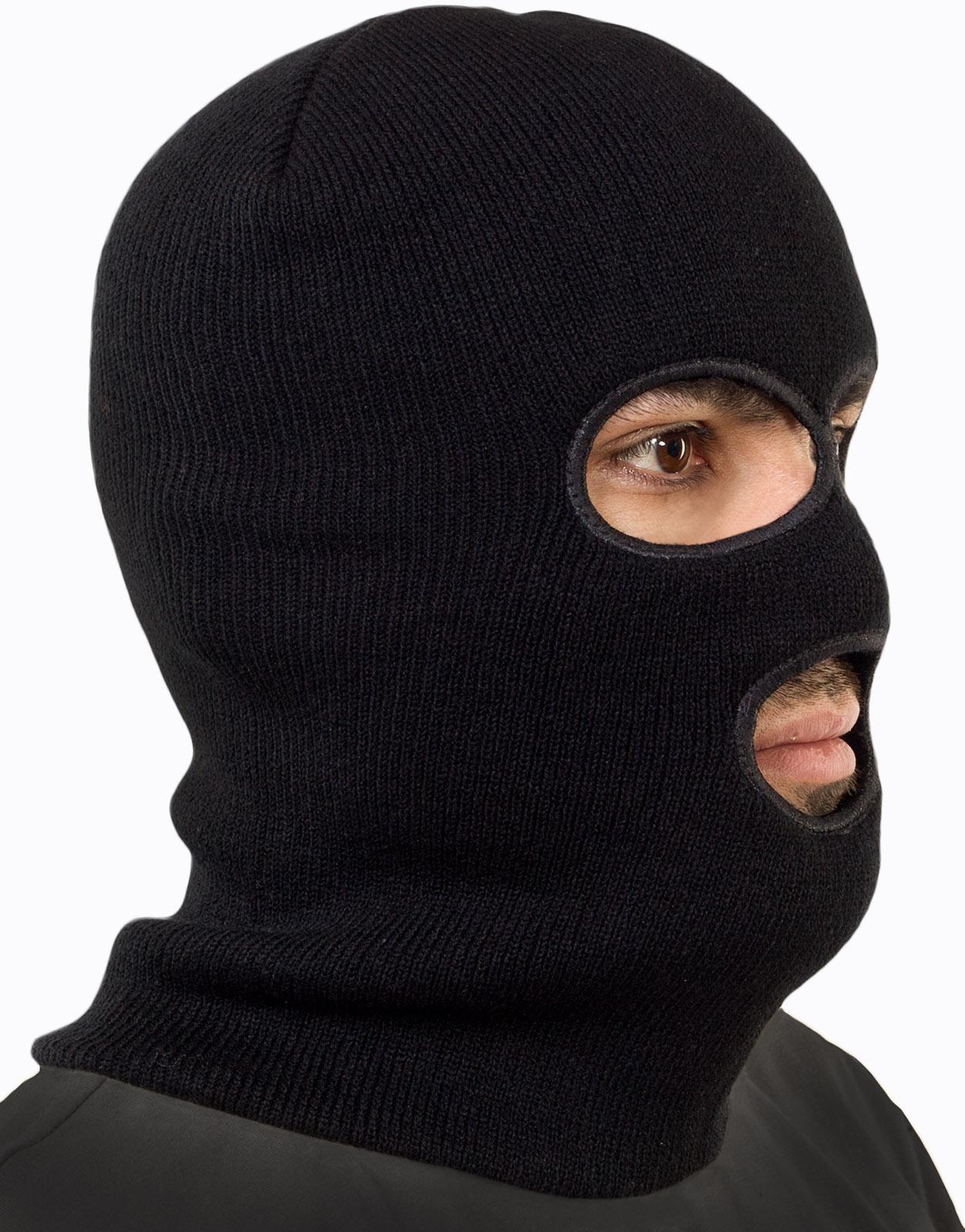 Черная маска спецназа по выгодной цене