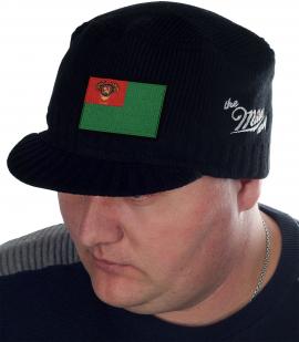 Черная мужская демисезонная кепка от бренда Miller Way - купить оптом