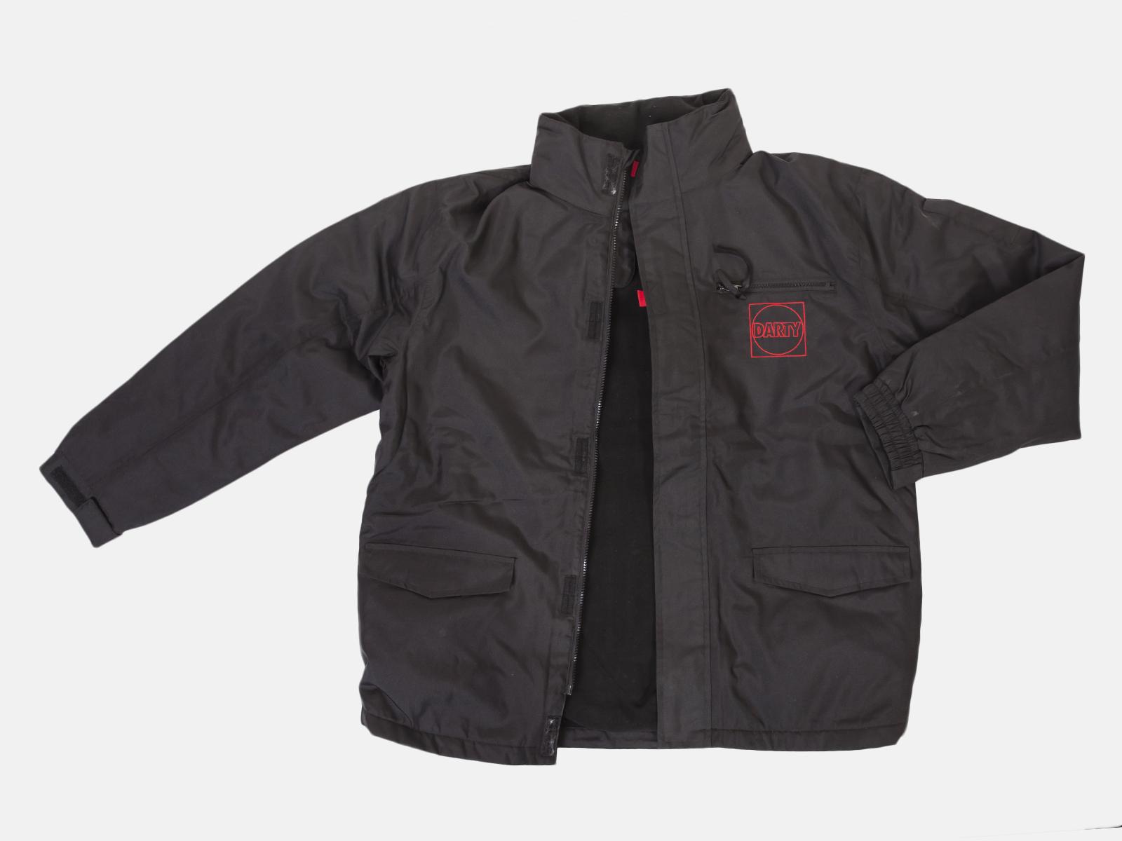 Черная мужская демисезонная куртка Darty