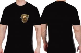 Черная мужская футболка с эмблемой Охотничьих войск - заказать в подарок
