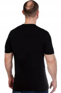 Черная мужская футболка с эмблемой Охотничьих войск - заказать с доставкой