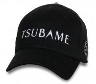 Черная мужская кепка-бейсболка Tsubame.