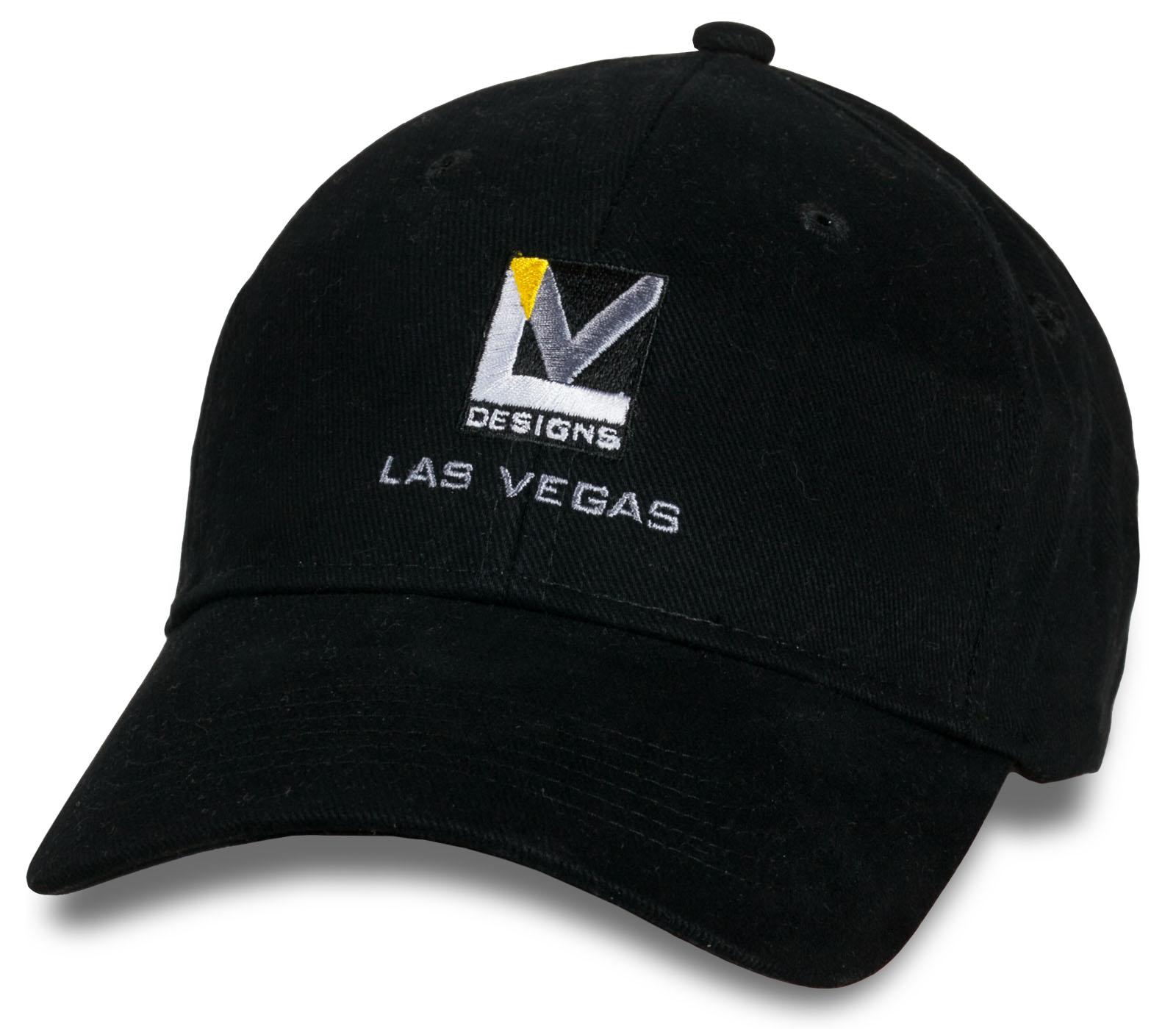 Черная мужская кепка Design Las Vegas.