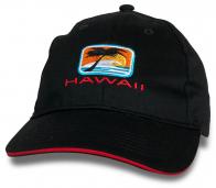 Черная мужская кепка Hawaii.