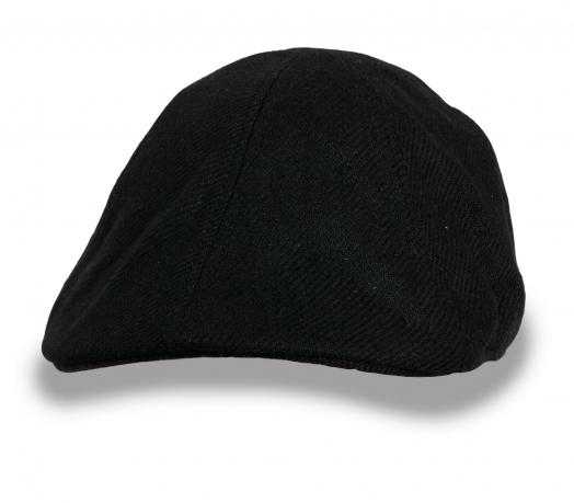 Черная мужская кепка Kangol
