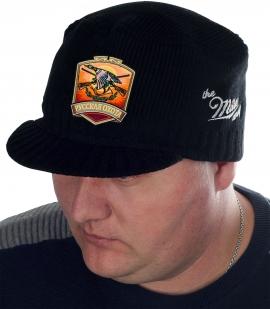 Черная мужская кепка Miller Way с нашивкой РУССКАЯ ОХОТА - заказать с доставкой