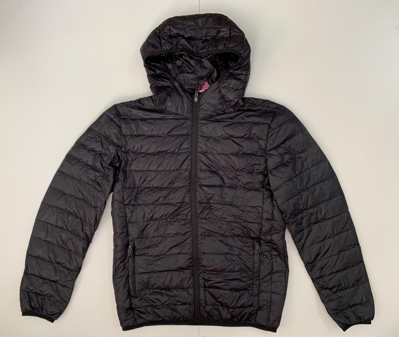 Черная мужская куртка от ENRICO ROSSI