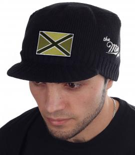 Черная мужская шапка с козырьком Miller Way - купить в розницу