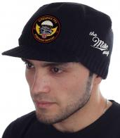 Черная мужская шапка с козырьком от Miller Way - заказать онлайн