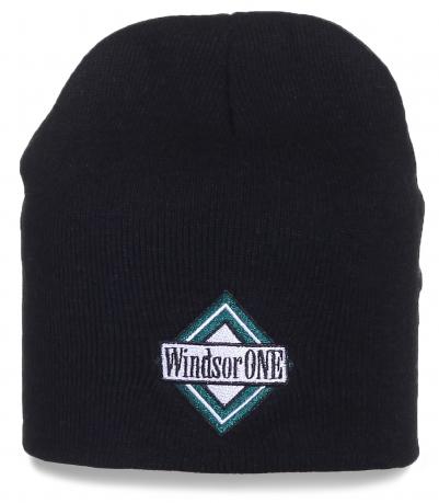 Черная мужская шапка Windsor One