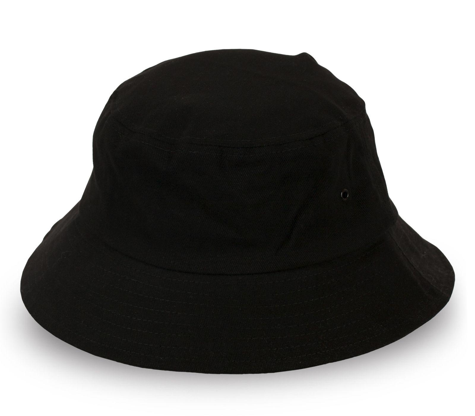 Чёрная панама для стильного образа