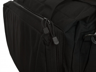 Черная полевая сумка-рюкзак с шевроном МВД купить выгодно