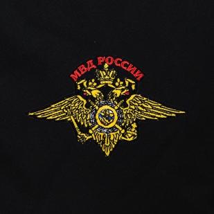 Черная полевая сумка-рюкзак с шевроном МВД купить по привлекательной цене