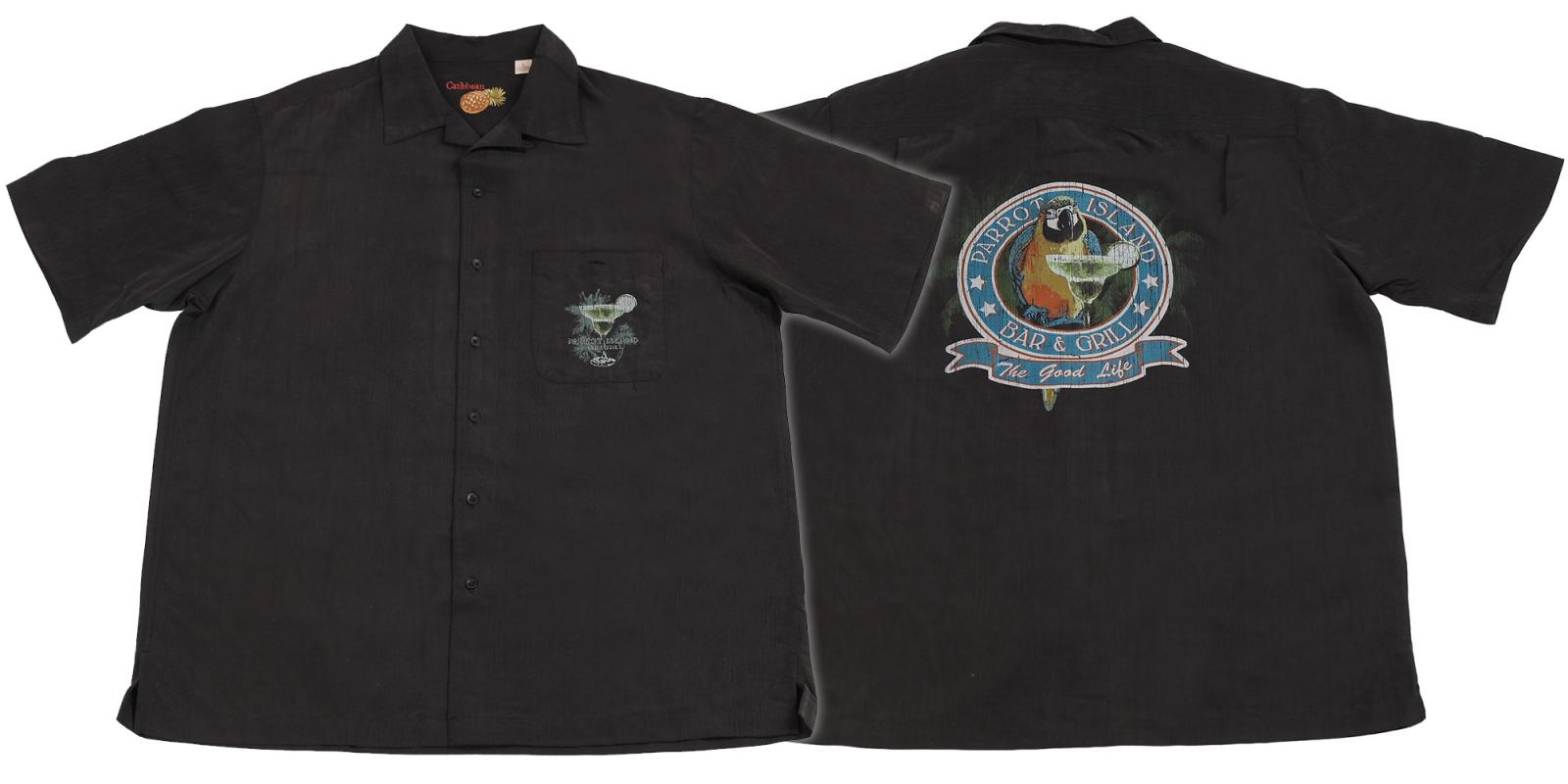 Черная рубашка Caribbean. Для знатоков стиля и качества!