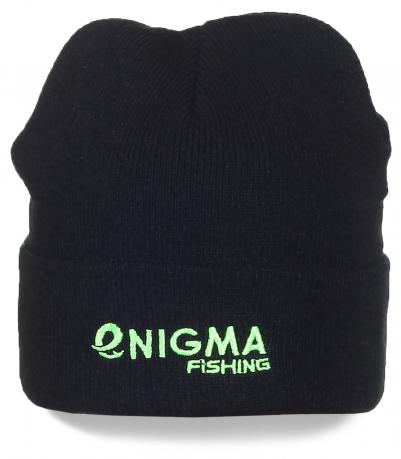 Черная шапка Enigma Fishing - стильная модель для активных людей