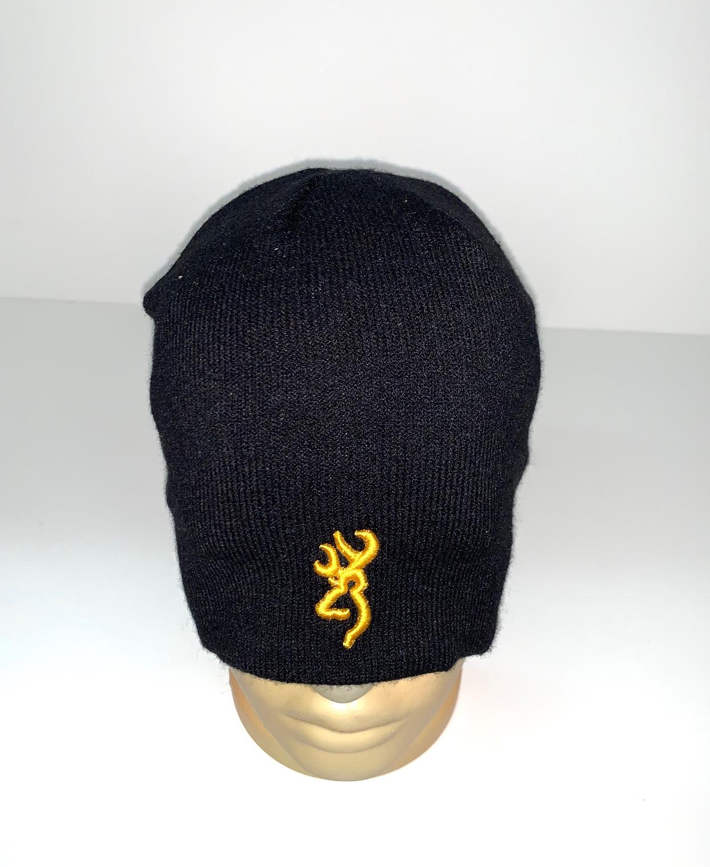 Черная шапка от Browning