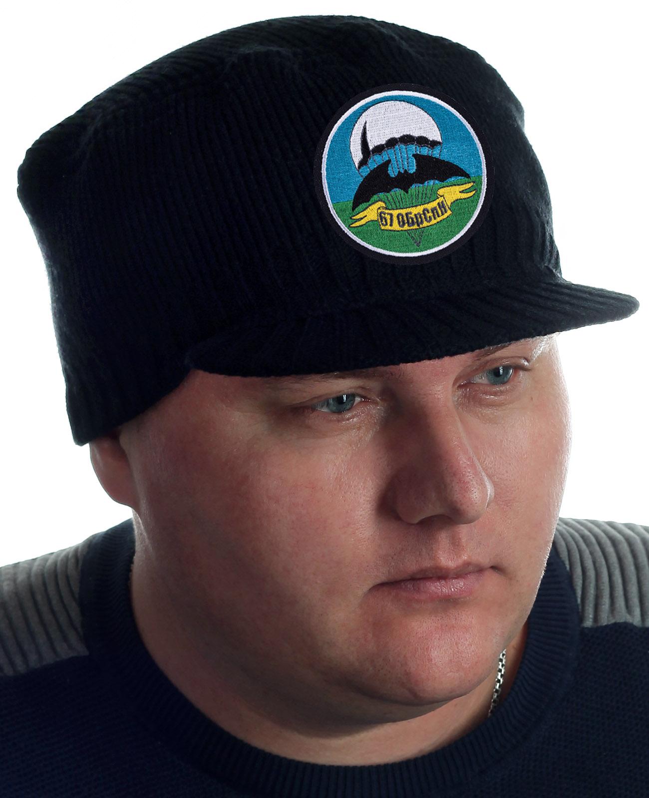 Купить черную шапку с козырьком от Miller Way с доставкой в ваш город