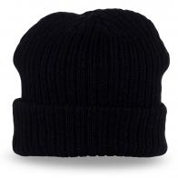 Модная вязаная шапка осень-зима – и под пальто, и под куртку/толстовку