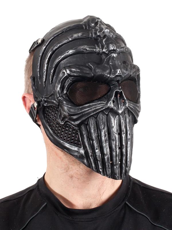 Классическая страйкбольная маска с черепом