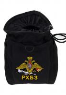Черная сумка для фляжки с эмблемой РХБЗ