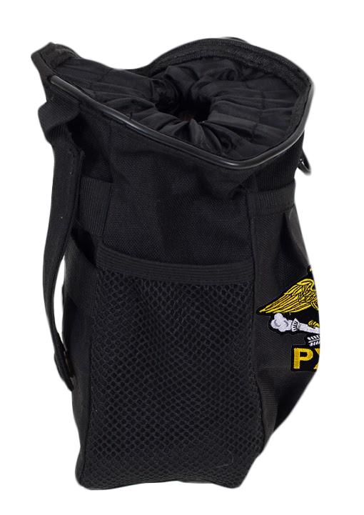 Черная сумка для фляжки с эмблемой РХБЗ купить в подарок