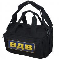 Черная дорожная сумка ВДВ