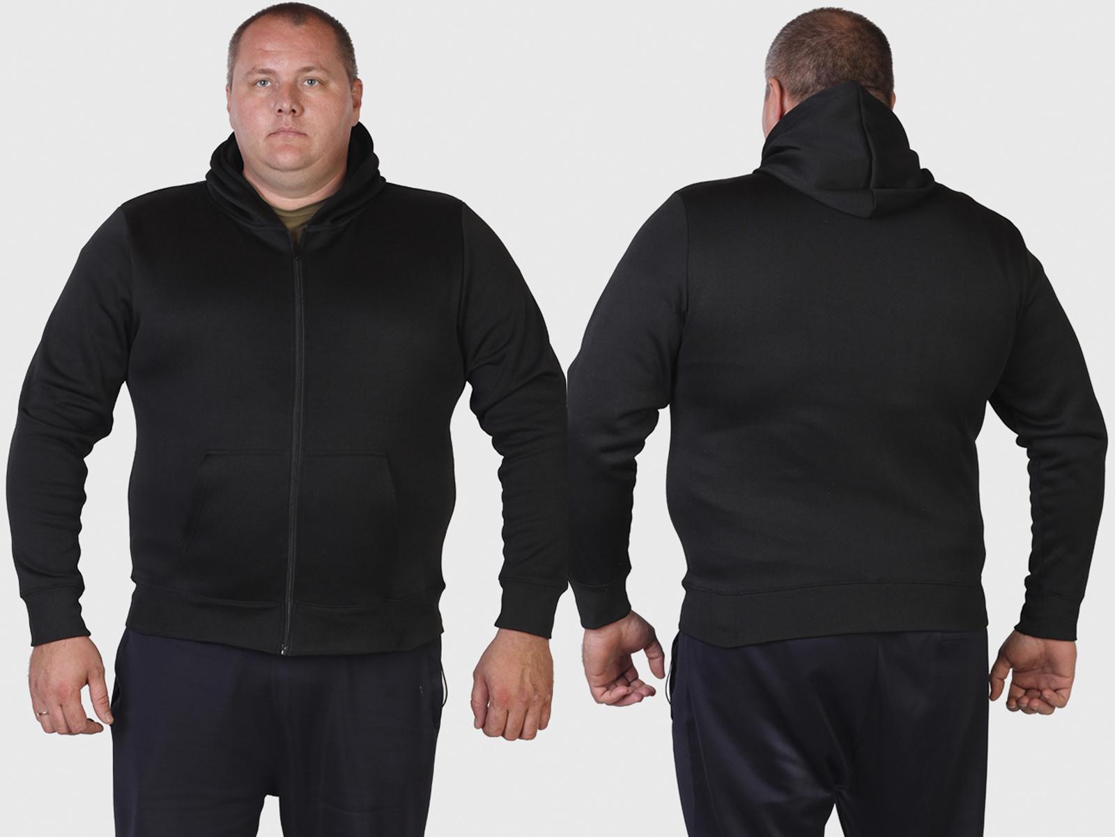 Черная мужская толстовка GP
