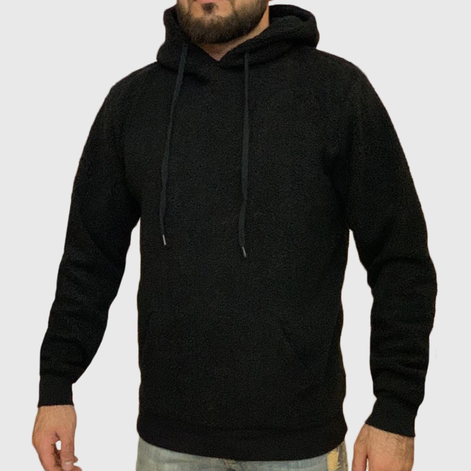 Черная мужская толстовка Stray