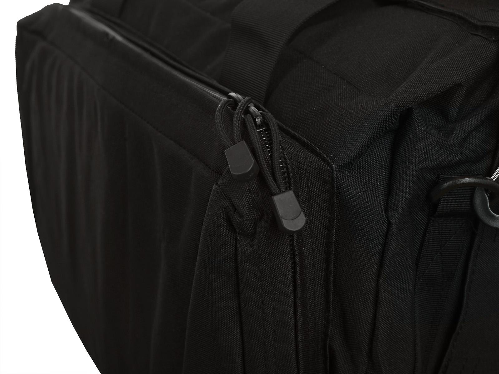 Черная военная сумка-рюкзак с нашивкой Танковые Войска - купить в Военпро