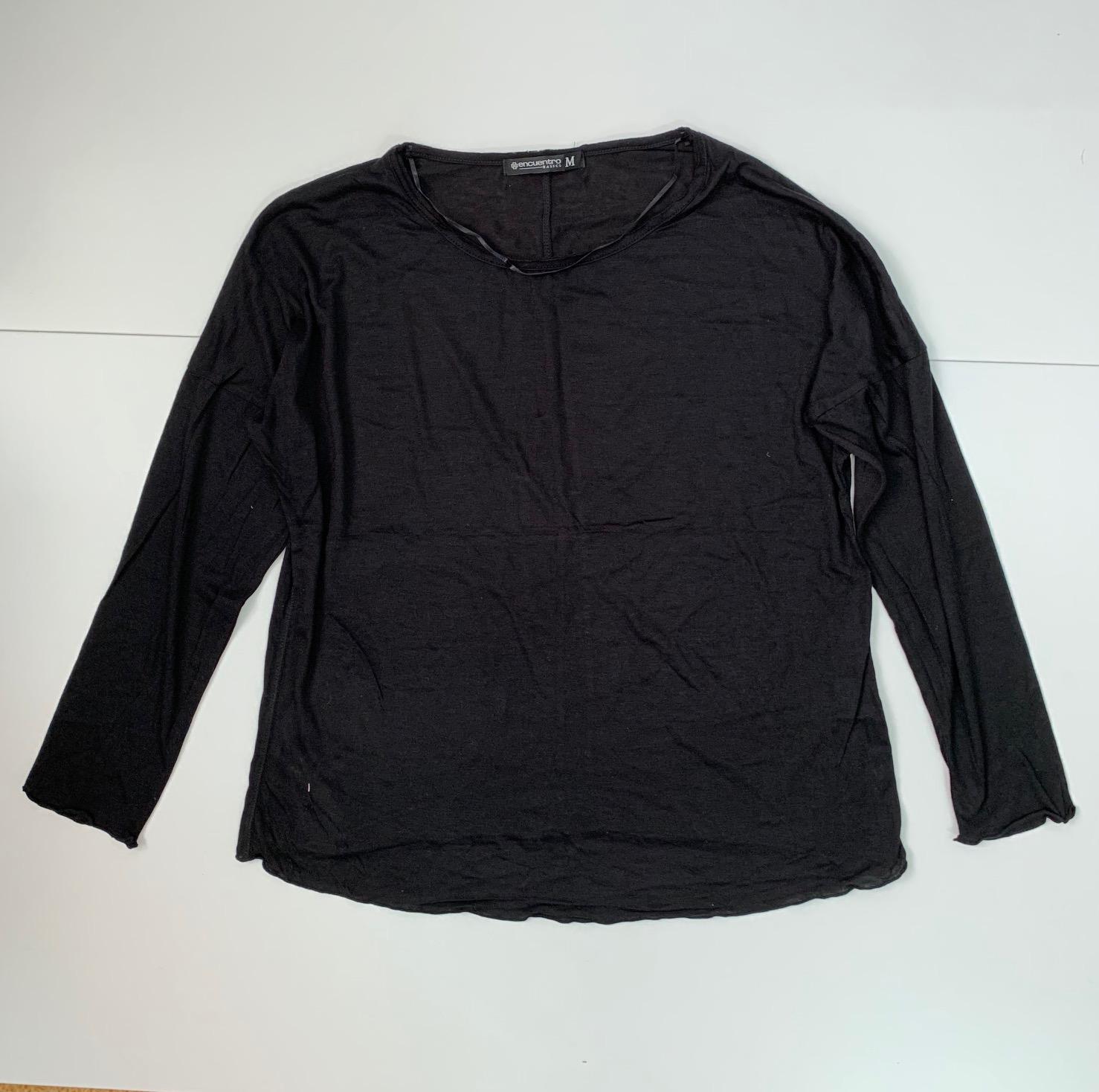 Черная женская кофточка от Encuentro