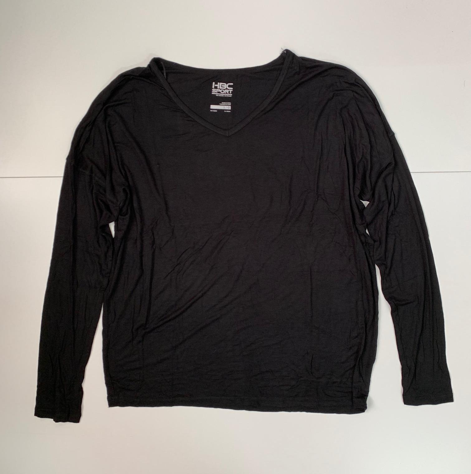 Черная женская кофточка от HBC sport