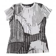 Черно-белая футболка Body Clove
