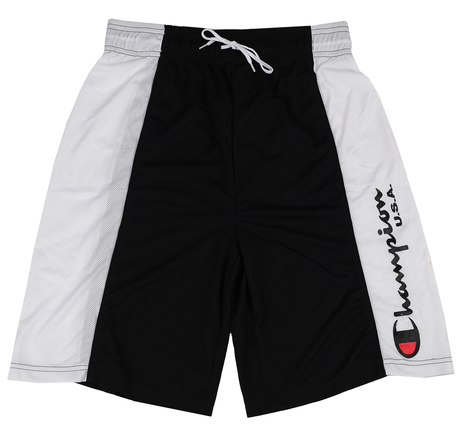 Черно-белые мужские шорты Champion