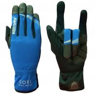 Черно-голубые перчатки от крутого бренда Gore Bike Wear