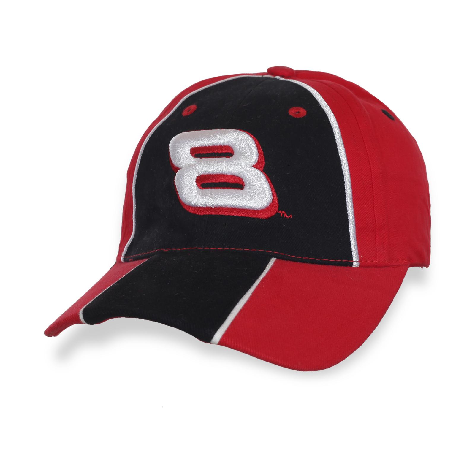 Черно-красная бейсболка 8™
