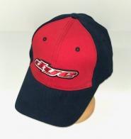 Черно-красная бейсболка от Dye