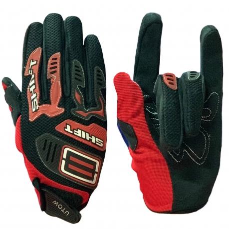 Черно-красные эксклюзивные перчатки от Uptown