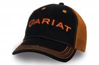 Черно-оранжевая бейсболка | Купить мужские бейсболки