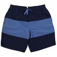 Черно-синие мужские шорты Bpc