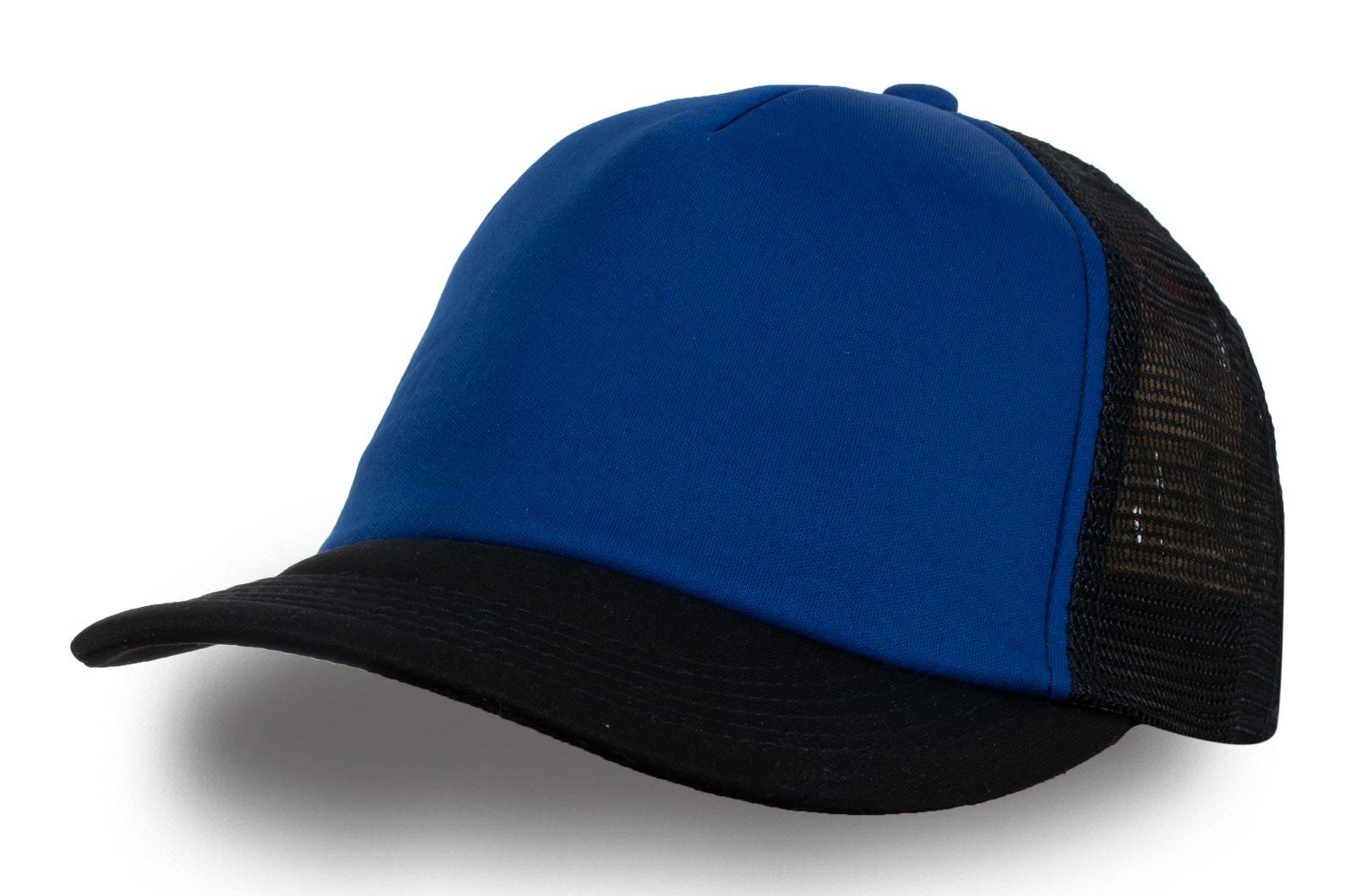 Чёрно-синяя бейсболка - купить с доставкой