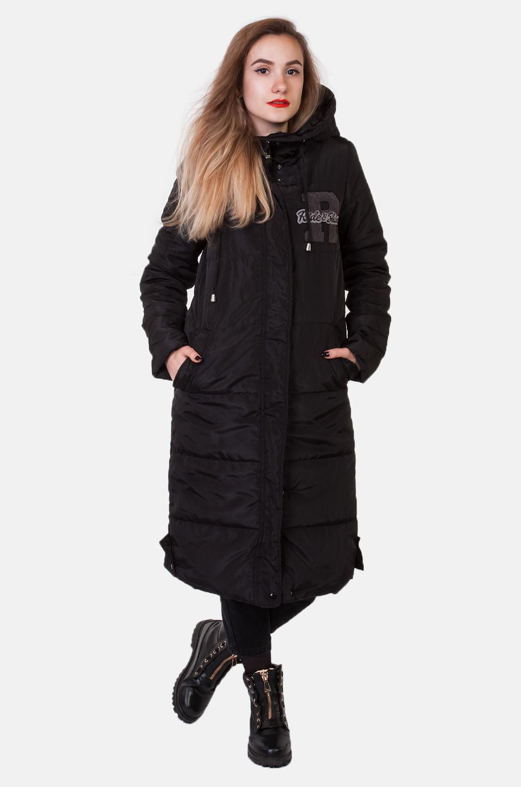 Купить стеганое женское пальто на зиму