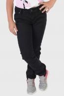 Черные детские джинсы