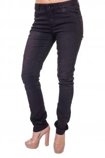 Черные женские джинсы Lpb с эффектом наколенников.
