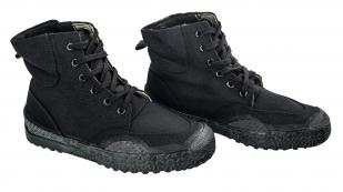 Черные демисезонные тактические ботинки с нескользящей подошвой