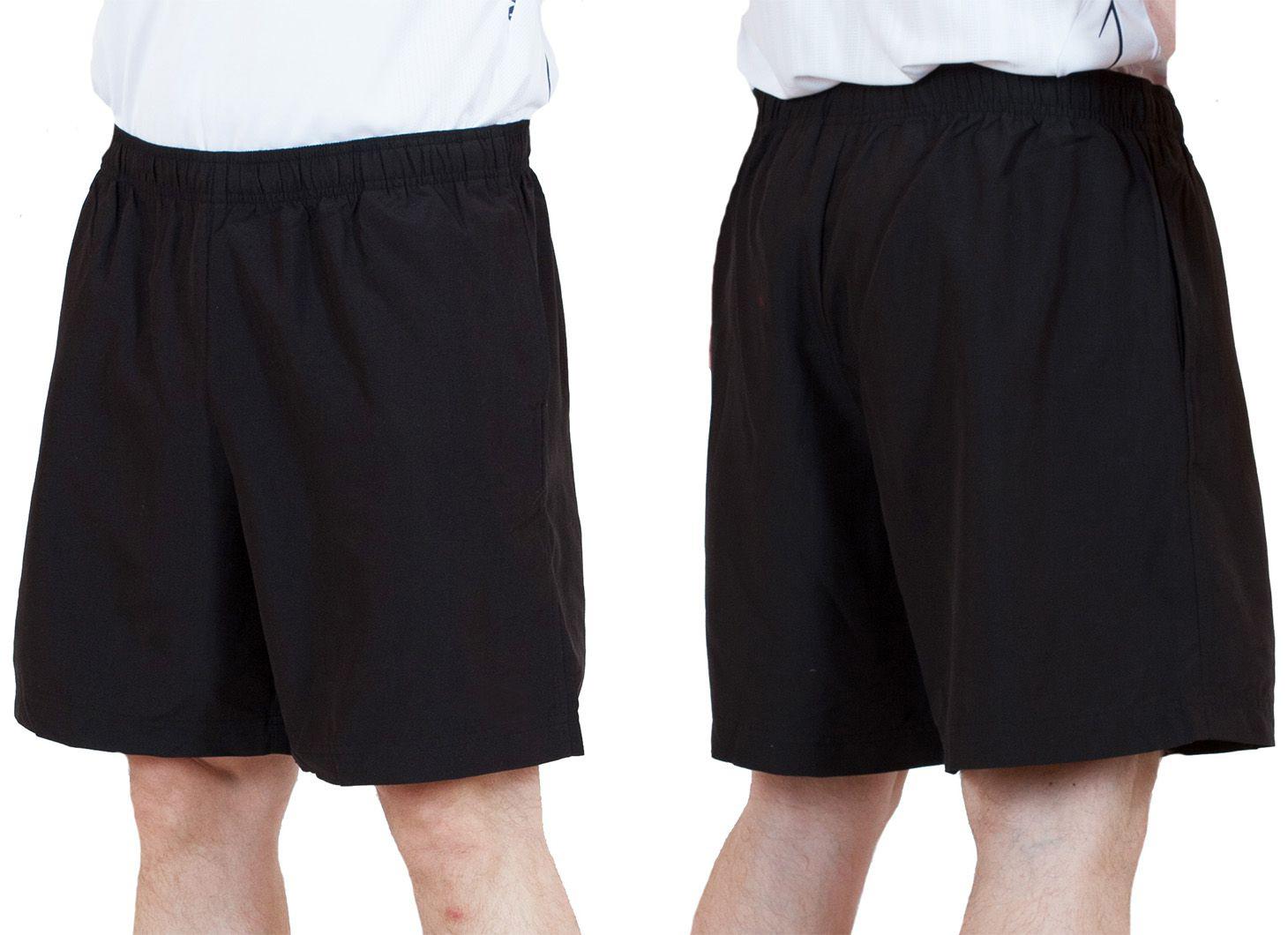Заказать черные мужские шорты спортивного стиля