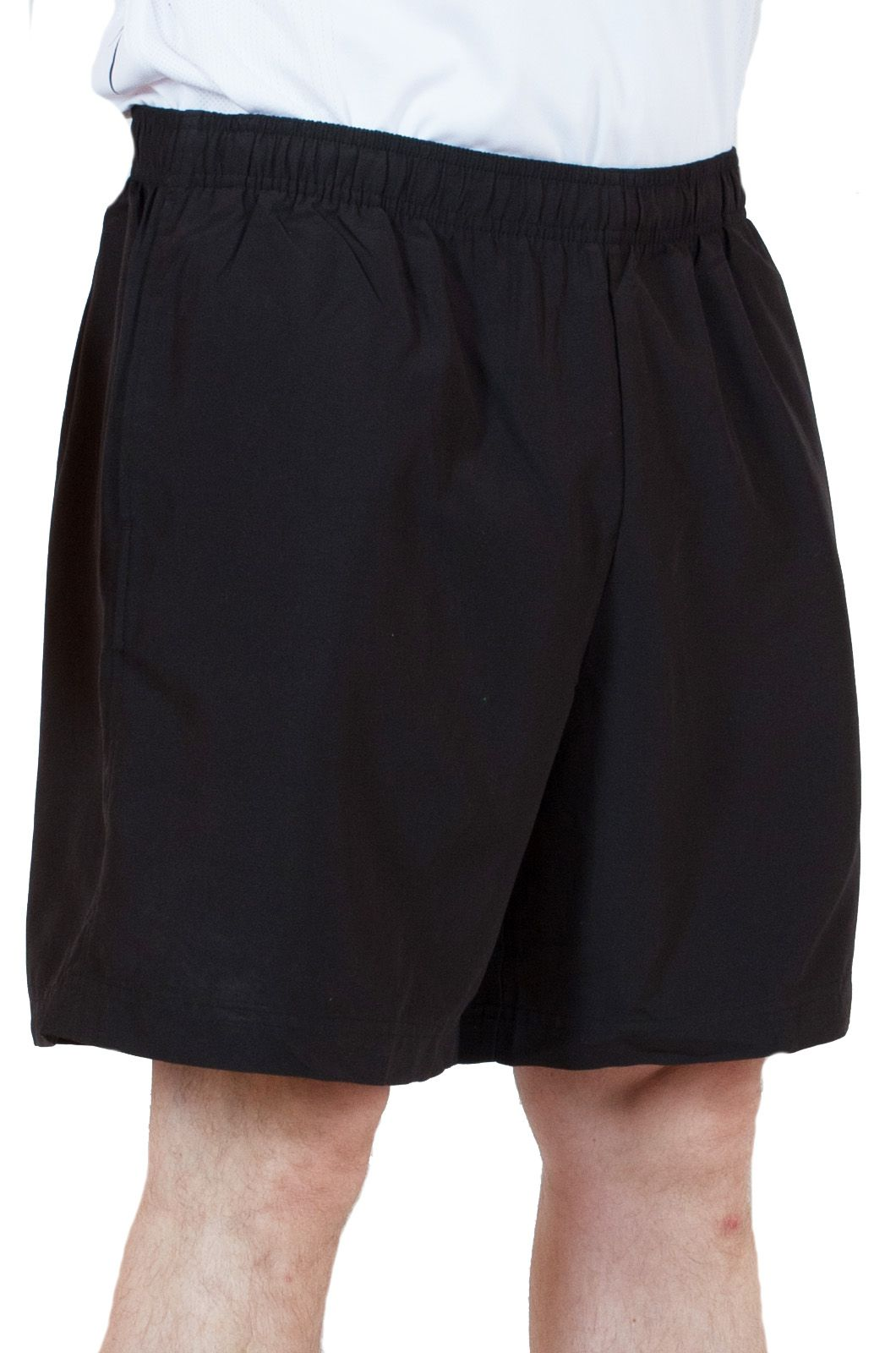 Купить черные мужские шорты спортивного стиля