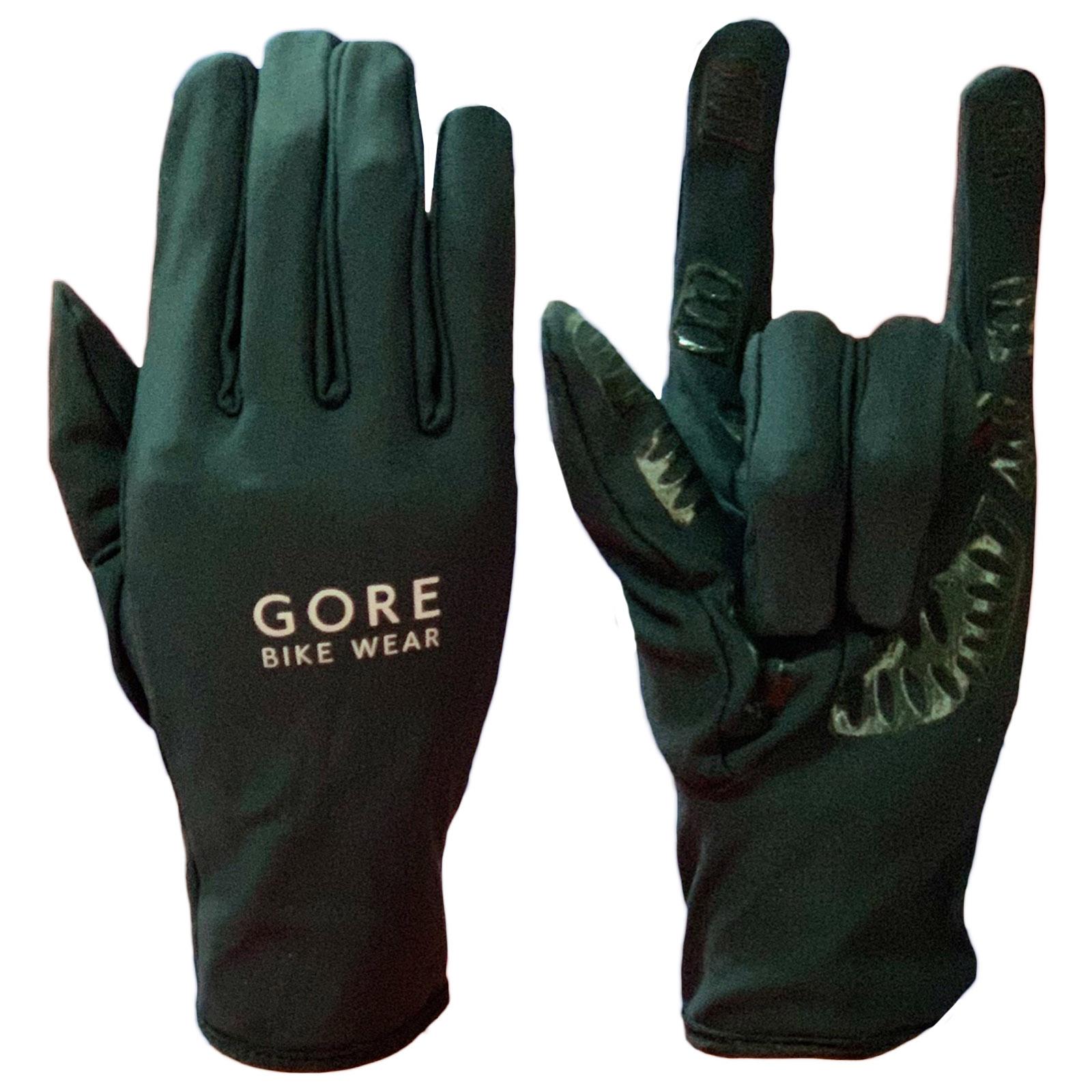 Чопперские неповторимые перчатки от Gore Bike Wear