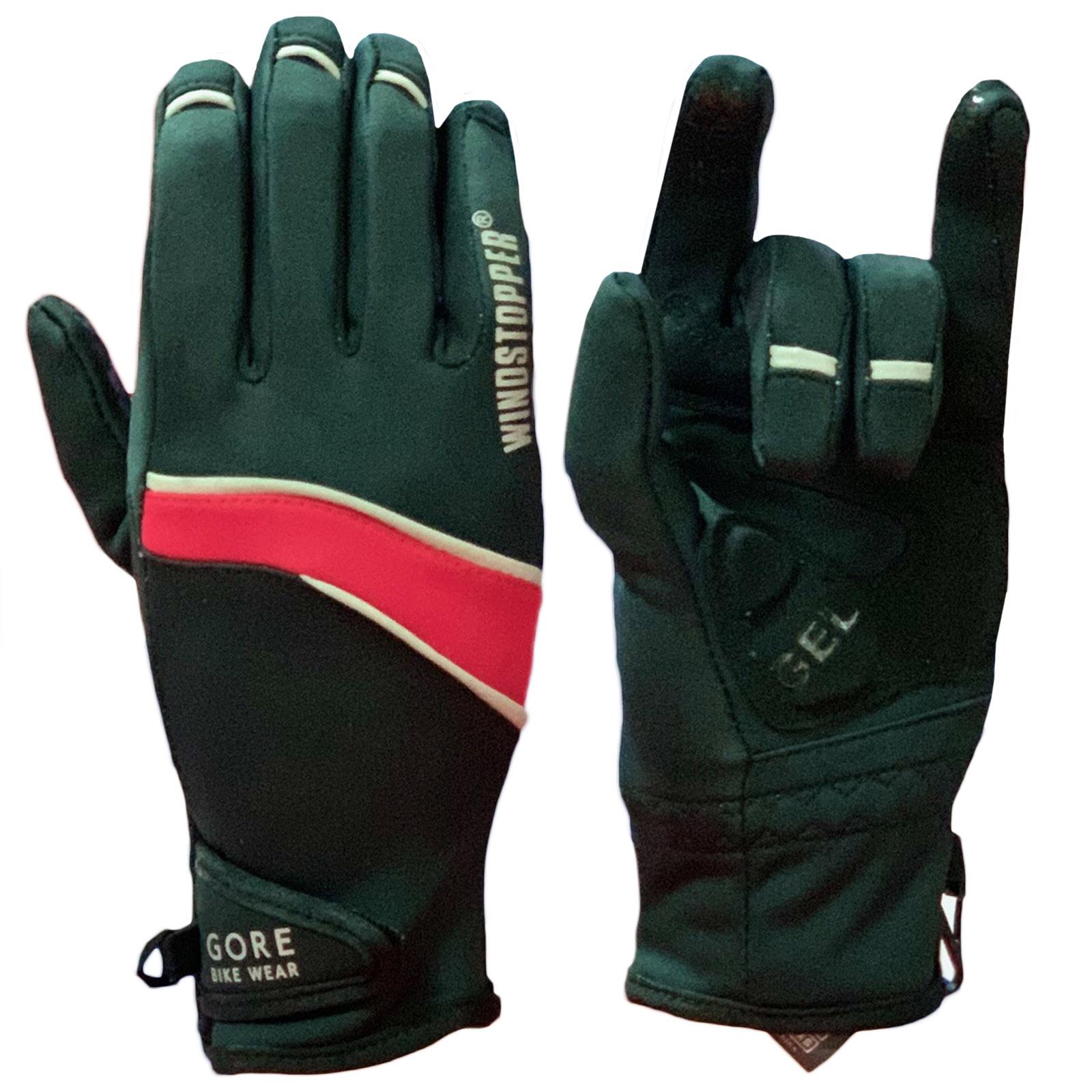 Эксклюзивные перчатки от Gore Bike Wear с красными вставками