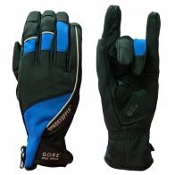 Байкерские перчатки от Gore Bike Wear с синими вставками