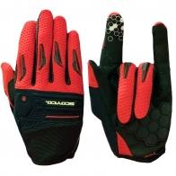 Эксклюзивные перчатки от Scoyco с красными вставками